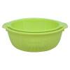 Яу хороший пластик Сливной кухня корзина овощей корзина корзина с фруктами круглый кусок оснащен U-6106 механизм сливной alca plast a08