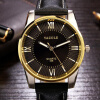 YAZOLE 2016 Mens watches Top Brand Luxury Mens Business Clock Male Quartz Wrist watch Quartz-watch relogio masculino Gold Black yazole mens watches top brand luxury quartz watch men wristwatches male clock wrist watch quartz watch relogio masculino yzl364
