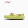 INTERIGHT пара обувь повседневная обувь плоские туфли вождения обувь Горох обувь зеленый 230 ярдов обувь