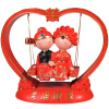 Золотой огонь, чтобы любить подарок свинг-шоу ремесла, чтобы отправить свадебные подарки подарки на день рождения подарок
