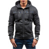 New Men Fashion Cardigan Hoodies Hooded Sweater calvin klein dune textured customized lift strapless bra 34dd $46 extra straps
