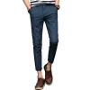 GLO-STORY мужские случайные штаны плед шаблон колготки темперамент моды случайные брюки мужчины LXK71098 Серый 34 matrix 71098