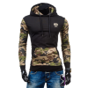 New Men Fashion Hooded Sweater Pullover Jumper Hoodies green hooded design pullover jumper