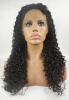 Frontal Lace wig Glueless Brazilian Virgin Human Hair with baby hair Black Women Curly russian new laptop keyboard for samsung np300v5a np305v5a 300v5a ba75 03246c ru layout