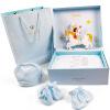 INTERIGHT новорожденного ребенка подарочные наборы десять светло-голубой 59см подарочные наборы