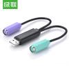 (UGREEN) USB к  PS/2 соединительная линия/адаптер круглый разъем адаптер usb k line