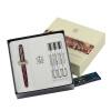Duke (Дюк) Mykonos таинственное красное золото клип ручка ролика / ручка / Gel + Roller Pen Подарочный набор duke дюк ручка ролика гелевая ручка ручка серии дизайнера