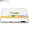Ким (Nintaus) PDVD-922 DVD-плеер Дети HD DVD-плеер, CD-плеер тигр плеер USB музыкальный проигрыватель) (белый) портативный cd плеер с джойстиком