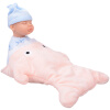 Бибер (Бибер) акулы спящего ребенка кукла куклы умиротворить плюшевые игрушки куклы моделирования детские игрушки умиротворить порошок детские игрушки
