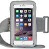 Chi сенсорный экран мобильного телефона руку мешок работает рука мешок движения сенсорный экран руку с браслет яблоко / Huawei / Samsung / просо 5.5 дюймов серый
