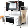 хранения Джи Руи / стеллажи из нержавеющей стали кухонные столешницы микроволновой печи стеллажи 58см однослойный суб-JR3055 перчатки кухня хранения ванной хранения