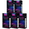 Ya-Qin мужских презервативы презервативы тонкая тонкая тонкая мягкая и жесткая гладкие прохладный влажная тонкое удовольствие кассета 10 * 5