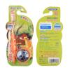 детские зубные щетки можно очистить чистый физический износ шелка мягкой щетиной сужающийся одиночные палочки (подарок йо-йо)