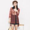 VIVAHEART Корейский случайные свободные белье ажурные вязать кардиган женский красный Размер VWYC172440