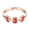 Yoursfs @ Золото Покрытие Rhinestone Кристалл Браслеты для женщин Розовое золото Цвет Charms День матери браслеты Браслеты моды B085R4