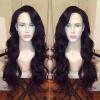Hot Sale Cheap Brazilian Virgin Hair Glueless Full Lace Wigs with Baby Hair