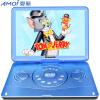 Amoi 1500A 14-дюймовый портативный мобильный DVD-плеер (проигрыватель DVD-плееров) Мобильный проигрыватель компакт-дисков с проигрывателем (синий) проигрыватель dvd