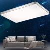 Первый раз (sdhouseware) светодиодные потолочные лампы гостиной Crystal Light Star современный прямоугольный прямоугольный Galaxy просто атмосферное освещение лампы 65 * 42см три цветовой температуры лампы освещение