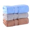 [Хорошо] Бай Jingdong супермаркет картина гладкая хлопчатобумажная пряжа толще мягкие и впитывающие полотенца три загрузки синий / серый / коричневый (34 * 76см / 120 г / статья * 3) пряжа для вязания patons fab big colour цвет бирюзовый зеленый синий 00088 120 м 200 г 9806557 00088