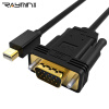 Rui Ming LA272502 mini dp для видеокабеля высокого разрешения VGA 2 м Apple адаптер для телевизора проектор mini dp lightning для VGA black rccskj 2104 mini power dp ubec black