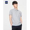 HLA легкая комфортабельная мужская рубашка ПОЛО, футболка с коротким рукавом, летняя новинка 2017 года рубашка поло printio фк фшм
