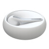 все цены на  Jabra (Jabra) ECLIPSE один камень умного бизнес вызова универсального Bluetooth гарнитура наушником белой  онлайн