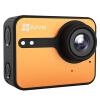 Флюорит (EZVIZ) S1C движение камера (оранжевая) двухрежимные смарт-камеры HD спорта камеры дайвинг внешней антенны камера дистанционное управление ezviz c2mini hd камера наблюдения ip камера веб камера