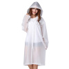 JAJALIN полупрозрачная притёртая взрослая непромокаемая одежда, плащ; дождевик, водоупорная спецодежда с шапкой