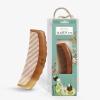 [Супермаркет] Jingdong суд махагон тонкозубый гребень с половиной гофрированного подарок на день рождения упаковка MX4-2 гребни bizon гребень диадема заколка