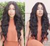Virgin Brazilian Hair 130 Density Glueless Full Lace Human Hair Wigs With Baby Hair 100 virgin brazilian 130 density full