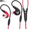 MEELECTRONICS M7P профессиональные спортивные наушники стерео гарнитура проводная вызов красный в ухо