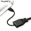 Руи Мин LA210501 HDMI кабель HD к порту адаптера VGA адаптер VGA мужчина hdmi к мужчине позолоченные dv hd hdmi женский кабель адаптер разъема extender