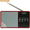 Decheng (Tecsun) D3 FM радио цифровой аудио плеер карта радио MP3 мини маленький звук старый портативный полупроводник (красный)