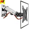 NB F120 (17-27дюйм) подставка монитора настенная nb f150 17 27 дюйма монитор компьютера стенд держатель вращающийся подъемник телескопический кронштейн