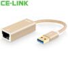 CE-LINK USB3.0 USB к RJ45 интерфейс сетевого кабели конвертер сетевой карты маршрутизатор tp link tl wr842nd ru 802 11bgn 300mbps 2 4 ггц 4xlan usb rj 45 rj 45 usb белый