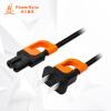 Бауэр звезда г (PowerSync) MPCBSW0005 поперечной устойчивости шнуры питания завершающей ноутбук характера зарядка шнур кабель аудио цифровая техника 0,5 м цифровая техника