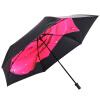 Jingdong [супермаркет] рай зонтик UPF50 + сверхлегкого углеродного волокна винил внутрь передать весь оттенок зонтик сложенный зонтик красный 30034ELCJ upf50 rashguard bodyboard al004