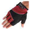 купить Фигура Mountaintop QXST01 Mading верхом велосипед перчатки половину палец скользит перчатка красный L недорого
