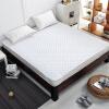 Постельное белье матрас кровать матрас кровать площадку двойной 1,8 м / 2 м ультратонкой воздухопроницаемой удобной ультразвуковой подушке кровать (180 * 200 см) машинной стирки