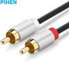 Постоянный продукт (PIHEN) PH-YPX013 3,5 мм одна точка два аудио кабель 3,5 мин RCA аудио конвертер линия 3,5 RCA аудио кабель адаптера Gold 1 м кабель 3 5 на два тюльпана