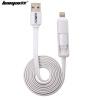 Фото Кабель передачи данных Rayleigh USB / кабель для зарядки / кабель Эндрю шнур питания для Samsung / просо / Meizu / Sony / HTC / Huawei white кабель