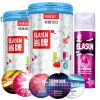 Elasun Импортные презервативы  24 *2  шт. , смазочное средство 60 г анальные пробки 2 шт розовый