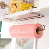 По одаренным п кухонных полотенец стойки держателя рулона свободных перфорированные нержавеющих сталь бытовых стеллажи стеллаж для хранения стойки бумажной салфетки DQ9068-5
