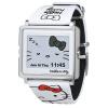 EPSON Epson Смарт Canvas смысл темы часы Hello Kitty (белый ремешок + серебряный ободок), когда