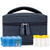 V-Coool мини портативный пакет обратно свежее грудного молоко пакета лед холодного мешок пакет желтый Саманта (в том числе сухого Lan Bing резервуар 2 + рр бутылки широкого калибра 3) молоко
