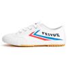 Feiyue / прыжок мужчины и женщины прислуга классические ботинки холст обувь моды белые туфли легкой атлетики обувь 331 красный и с