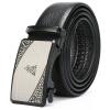Пугало (мексиканский) мужская мода бизнес ремень кожаный ремень мужской ремень пряжки ремня первый слой автоматический MHJ10906M-02 Black ремень modis modis mo044dgros05