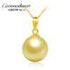 Carreno Duran (Carrenoduran) 9.5-10MM морская вода золотая жемчужина ожерелье женская 18K золото раунд нет времени DZ03061 минеральная вода жемчужина байкала 1 25 негаз пэт жемчужина байкала