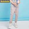 Barabara (BALABALA) детская одежда мальчика брюки большой девственный брюки брюки детские пыхтение мужские 28132171252 Shell Card 130 130 shell