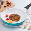 Neoflam Mitra серии pan pan антипригарная сковорода сковорода керамический стейк горшок омлет блинчик индукционная плита общий EC-MT-f20I изумрудно-зеленый арбуз красный случайная доставка 20CM консоль mitra